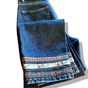 Vintage Northern Reflections Embroidered Jeans